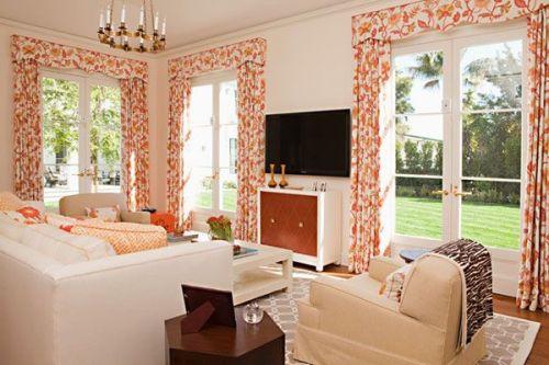 Дизайн большой гостиной от 20 кв.м.