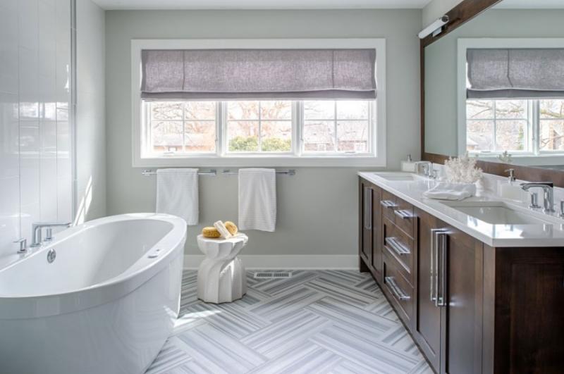 Интерьер американского дома в стиле модерн в США