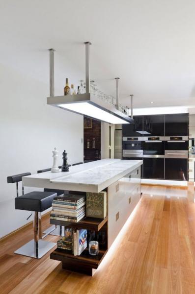 Современная кухня в Австралии от дизайнера Даррен Джеймс