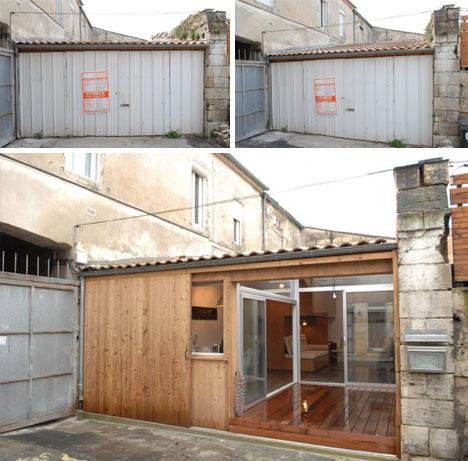 Просторный гараж или дом?