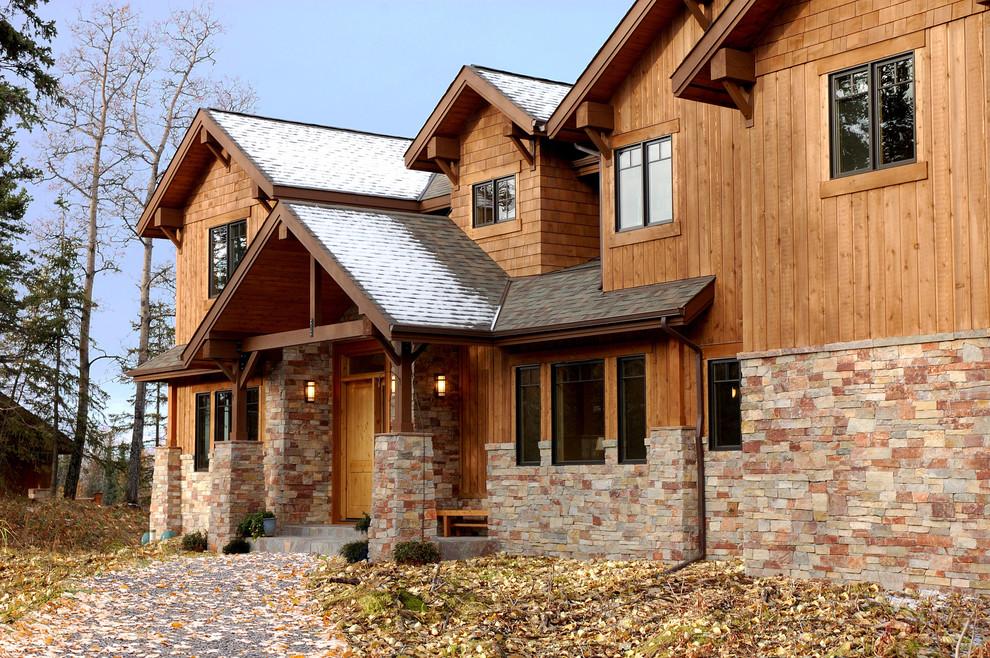 материалы для фасада дома