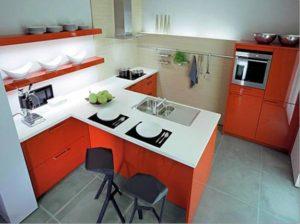 дизайн кухни, монтаж кухни