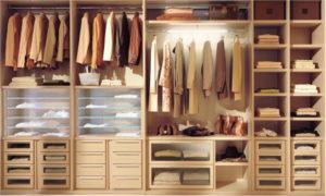 шкафы-купе, наполнение