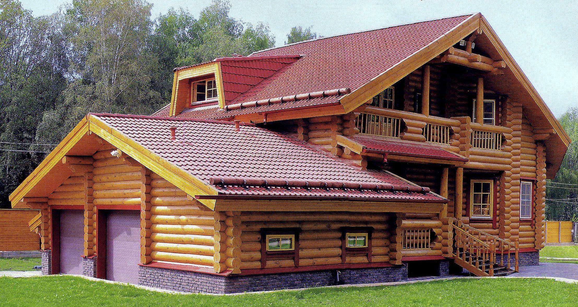 Особенности деревянных домов.