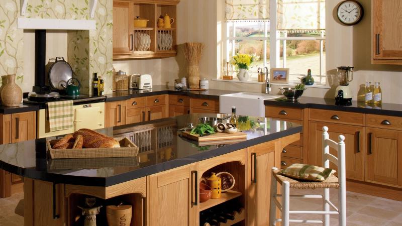 Практичные моющиеся обои для кухни: 5 преимуществ