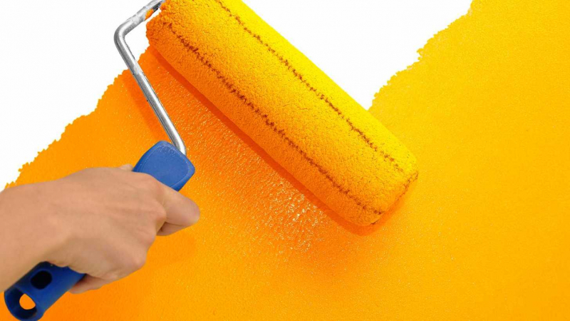 Можно ли красить виниловые обои: 3 вида полотна