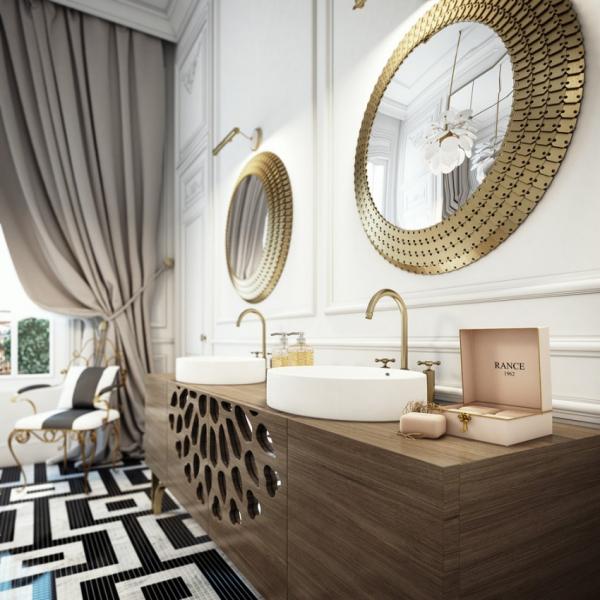 Стильная квартира в Париже, Франция