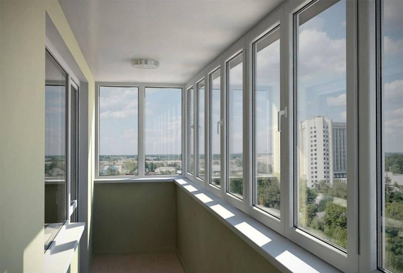 Современные пластиковые окна на балкон: выбор и установка