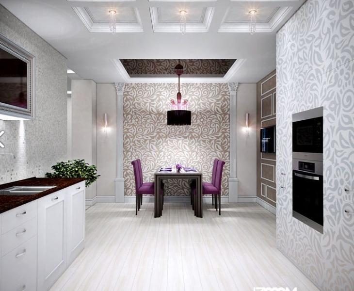 "Интерьеры двухкомнатных квартир от дизайн студии ""Izoom"""