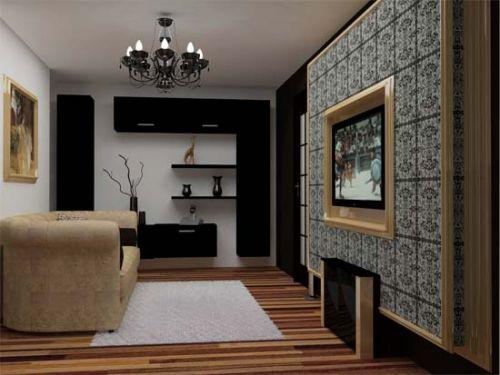 Интерьер гостиной 17 -18 кв. м.