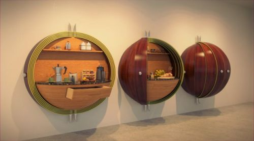 Интересные необычные кухни