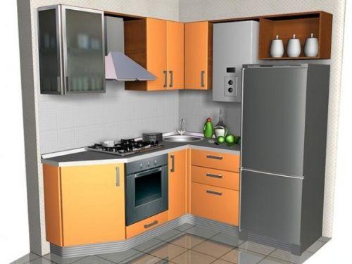 Малогабаритные кухни 4-5 кв. м.