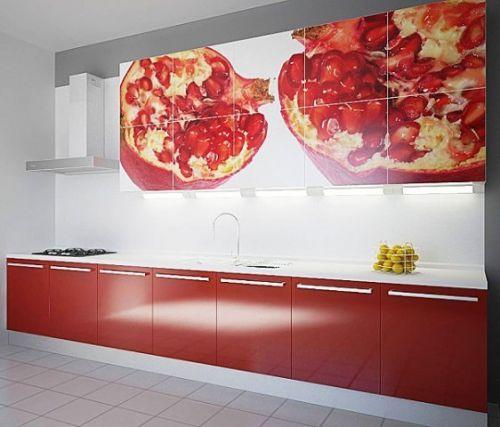 Кухни с фотопечатью