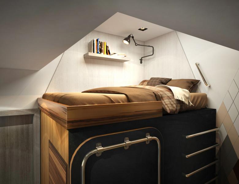 Дизайн и интерьер квартиры 14 кв.м.