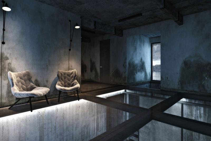 Интерьер холостяцкой квартиры на берегу Черного моря