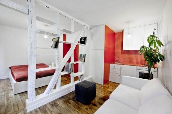 Дизайн квартиры 40 кв. м.