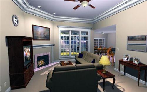 Интерьеры гостиных в классическом стиле