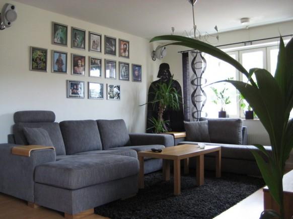 Интерьеры гостиной