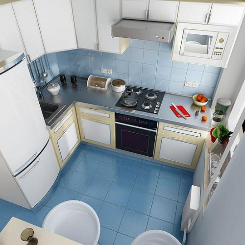 Квадратная кухня