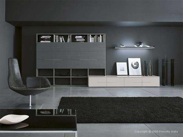 Ультра современный дизайн гостиной