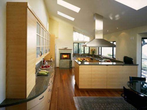 Нестандартные длинные кухни