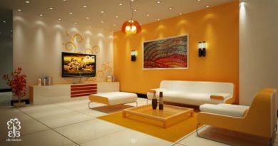 Яркие проекты дизайна гостиных