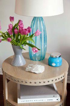 Гостиная в бирюзовом цвете