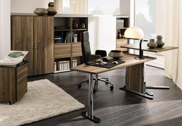 Домашний кабинет в стиле модерн