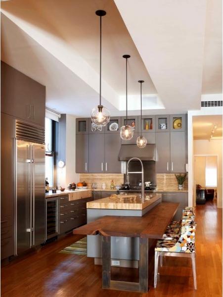 Освещение рабочей зоны на кухне