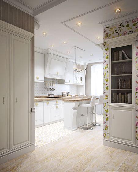 Готовые дизайн проекты трехкомнатных квартир