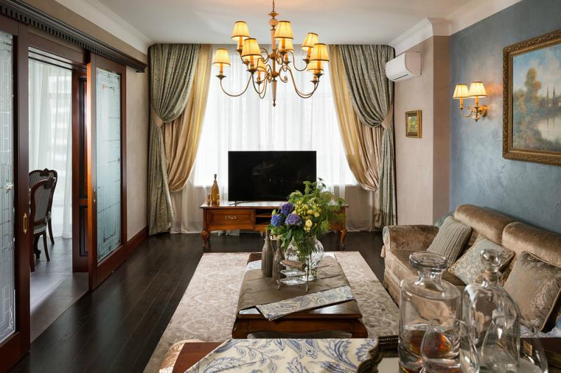 Настоящая классика: квартира в стиле 19 века