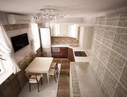 Кухни 15 кв. м.