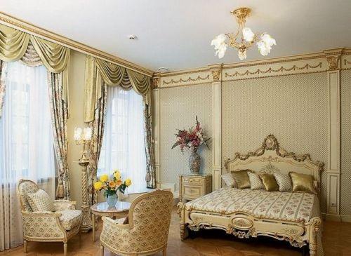 Шикарные спальни