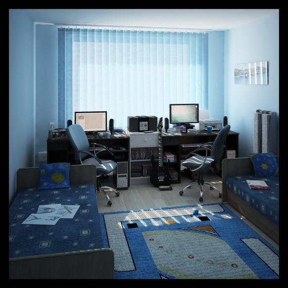 Интерьеры детского рабочего места