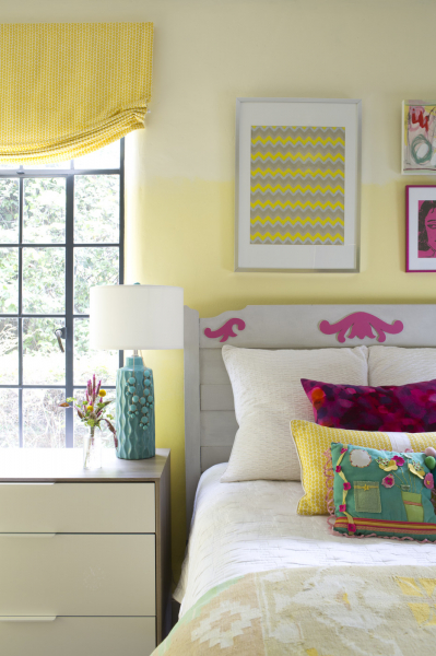 Желтые спальни