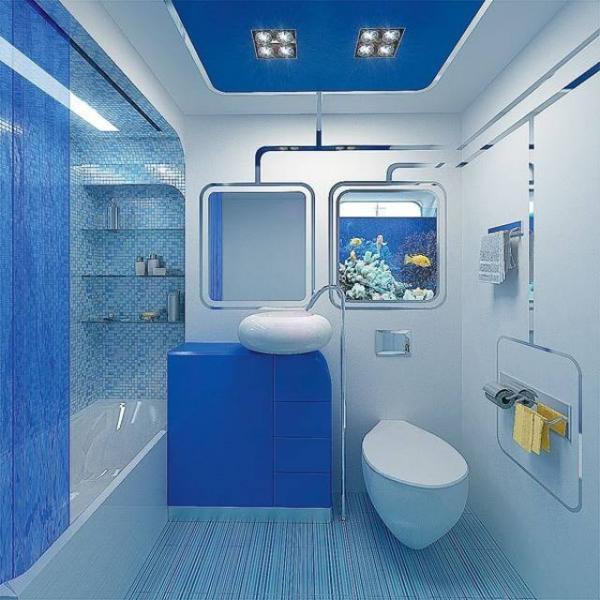 Синие ванные