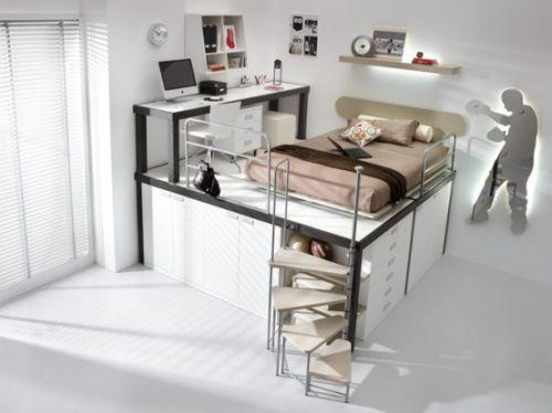 Интерьер спальни для мальчика