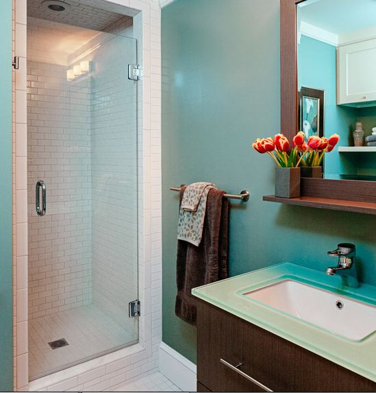 Стеклянные перегородки в ванной комнате: плюсы и минусы