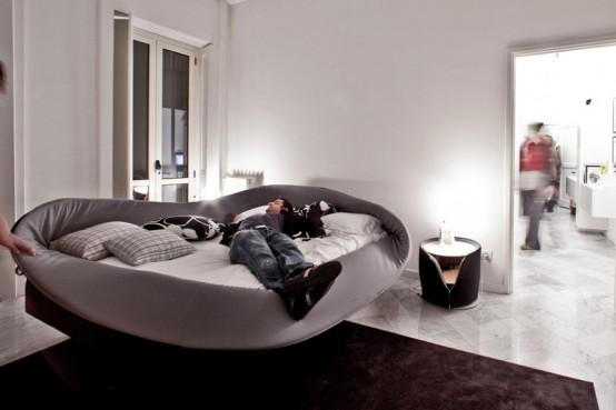 Кровать в стиле модерн от Lago