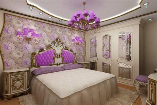 Лиловые спальни