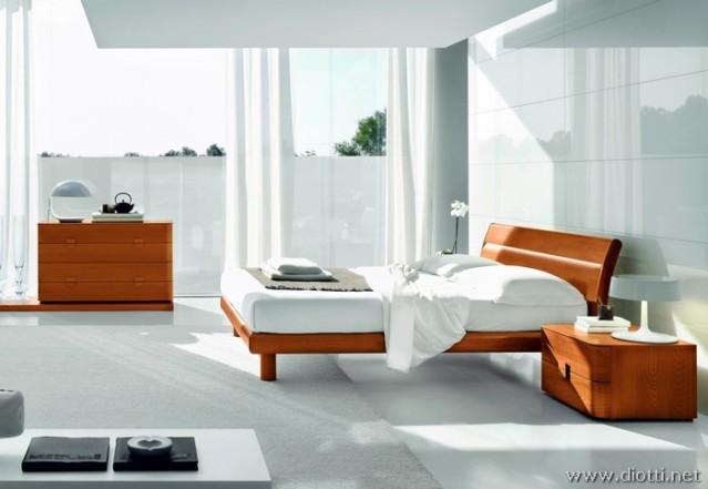 Спальный гарнитур цвета Вишня