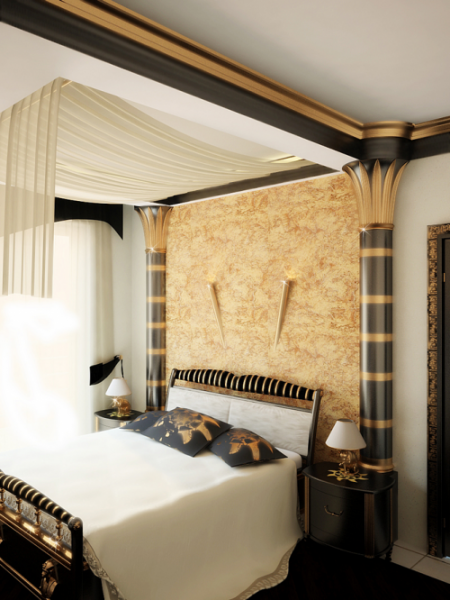 Египетская спальня