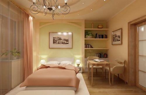 Зонирование спальни, как разделить спальню