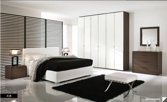 17 великолепных спален в стиле модерн