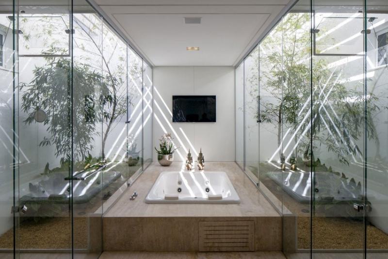 Квадратные ванные