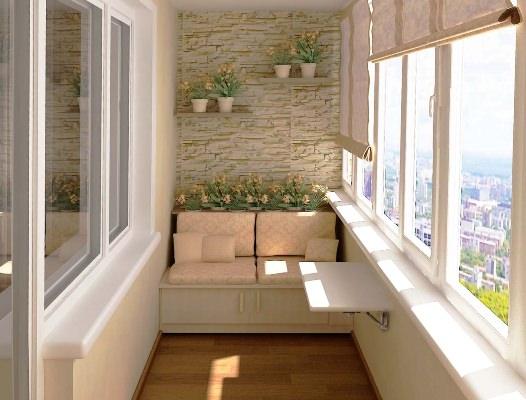 Выполняем обустройство балкона самостоятельно