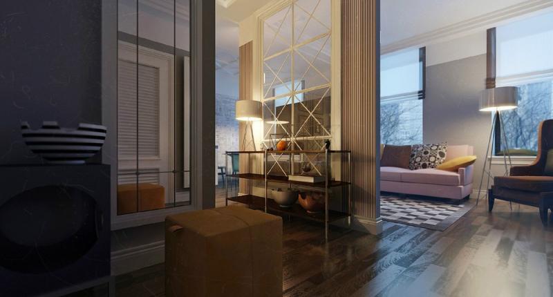 Интерьер квартиры в нью-йоркском стиле