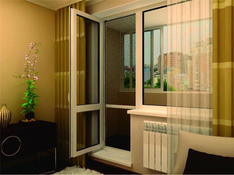Ремонт пластиковых дверей балкона: как делать правильно