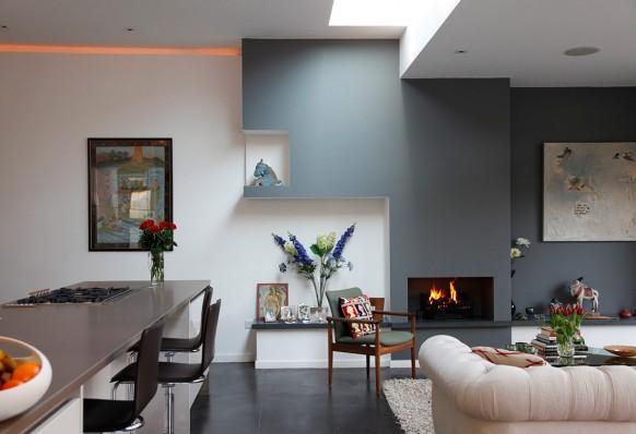 Эклектика современного дома