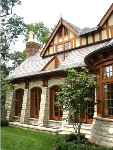 Сказочные дома в стиле фахверк